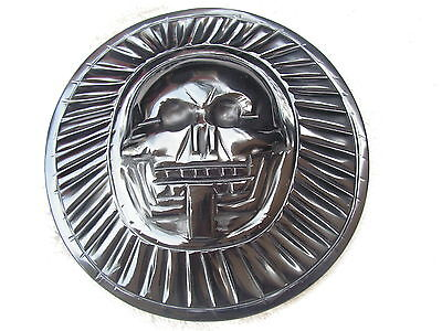 Aztec Death Of Disc Obsidian Stone New.