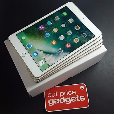 Apple iPad mini 4 16GB WiFi + Cellular 7.9in Gold (Unlocked) *AUSTRALIAN STOCK*