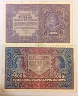Poland banknotes ...very old