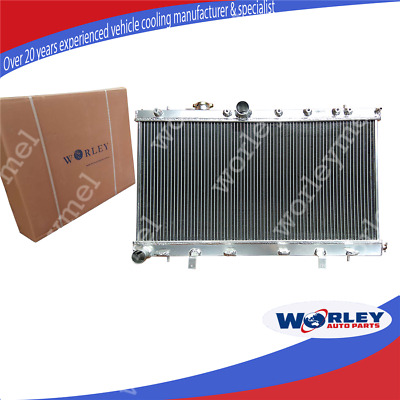 2 ROW ALLOY RADIATOR for 2002-2007 SUBARU IMPREZA WRX STI GDB GD8 GD 03 04 05 06