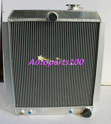 2 CORE ALUMINIUM RADIATOR for CHEVY PICKUP TRUCK AT 1948-1954 49 50 51 52 53