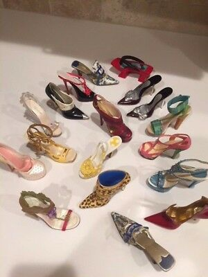 Just The Right Shoe RAINE Lot of 17 NO BOXES excellent