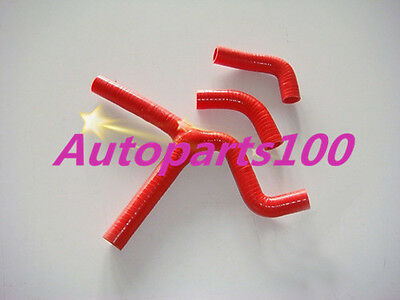 Red Silicone Radiator Y Hose Kit for KTM 450SX 525SX 2003-2006 2004 2005