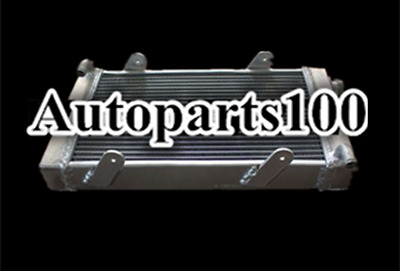 "2 rows 50 mm aluminum alloy radiator for go kart 19"" x 10"" x 2"""