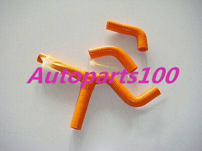 Orange Silicone Radiator Y Hose Kit for KTM 450SX 525SX 2003-2006 2004 2005