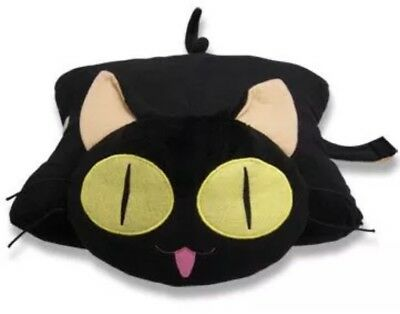*NEW* Trigun Kuroneko Pillow Cat Kitty Anime AUTHENTIC LICENSED PRODUCT *NWT* 🙀