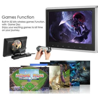 10.1 Inch TFT Digital LCD Car Headrest DVD Player Monitor with HD USB SD W3I6