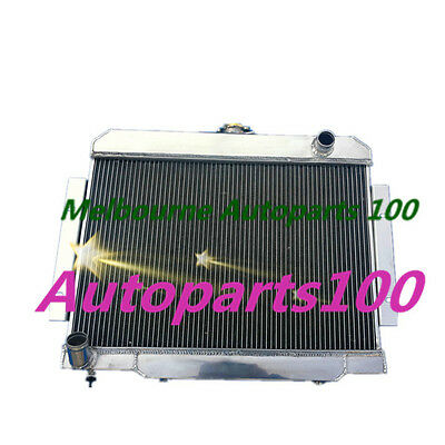 3 Row Aluminum Racing Radiator for Jeep CJ5 CJ6 CJ7 3.8L 4.2L 5.0L 1970-1985 MT
