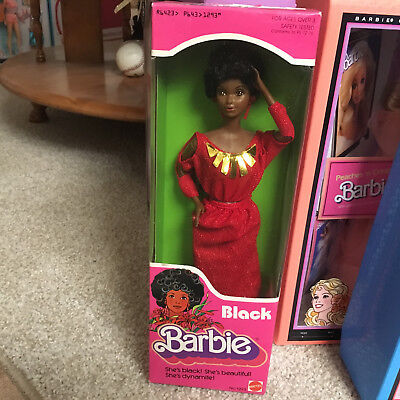 Barbie Doll Vintage First Black Barbie 1979 No.1293