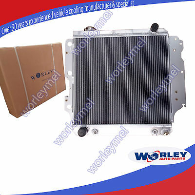 ALLOY ALUMINUM RADIATOR for JEEP WRANGLER YJ/TJ/LJ RHD 1987-2006 AT/MT