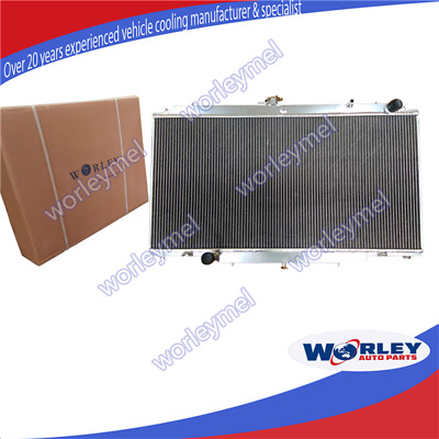Alloy Radiator For NISSAN PATROL GU Y61 2.8L 3.0L RD28 ZD30 CR 99-13 MT