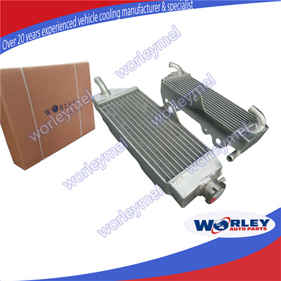 Aluminum Radiator For Yamaha Wr400F 1998-2000 98 99 00 1999 Wr 400 F