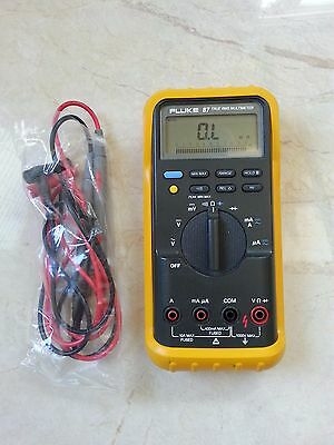 FLUKE-87 TRUE-RMS-MULTIMETER  c/w brand new leads