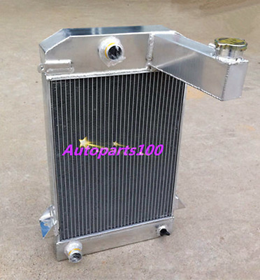 62MM 3 ROW ALUMINUM ALLOY RADIATOR for TRIUMPH TR2/TR3/TR3A/TR3B MT