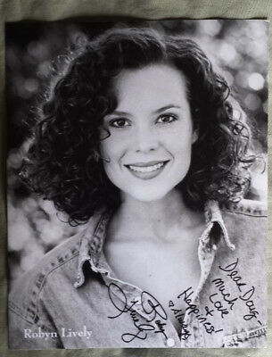 Robyn Lively Autographed 8x10 Photo - Actress ~ Personalized To Doug