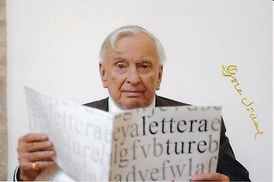 Gore VIDAL (1925-2012) original sign. photo 13x19cm / autograph / SELTEN