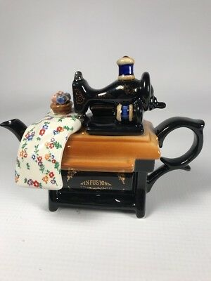 Paul Cardew Mini Infusion One Cup Sewing Machine Teapot