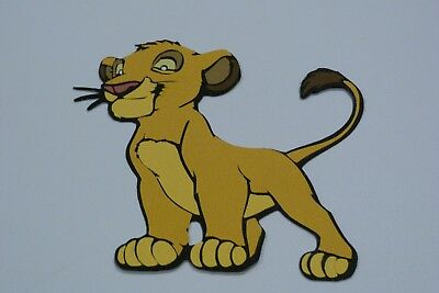 Simba  Fully Assembled Die Cut