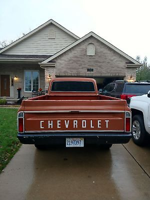1972 Chevrolet Other Pickups Deluxe 1972 Chevy C-20 Pick up