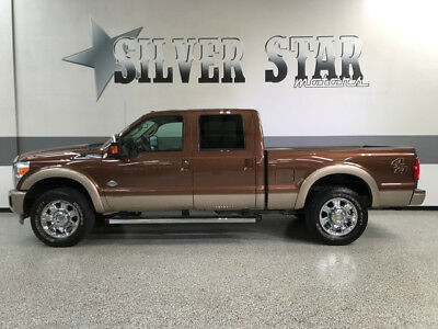 2012 Ford F-250  2012 F250 King Ranch 4WD Powerstroke CrewCab ShortBed GPS AllPower Leather TX!