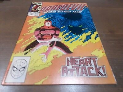 Daredevil #254 (May 1988, Marvel) 1st app Typhoid Mary higher grade