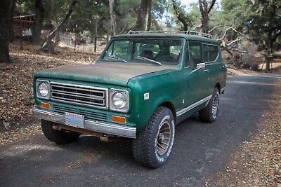 1979 International Harvester Scout  1979 International Scout II