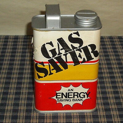 Vintage Plastic Gas Can Shaped Gas Saver Bank An Energy Saving Bank Hong Kong