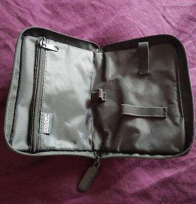 NEW Diabetes Supplies/ Blood Glucose Meter Carrying Case by Accu - Chek (C)