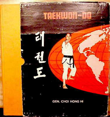 VERY SCARCE-1972 1st Ed-CHOI HONG HI-TAEKWON-DO-For Beginning & Advanced Student