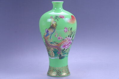 Exquisite chinese painting FLOWER porcelain Vase hp94