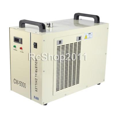 110V CW-5000 Industrial Water Chiller for Glass Laser Tube Cooling Machine US