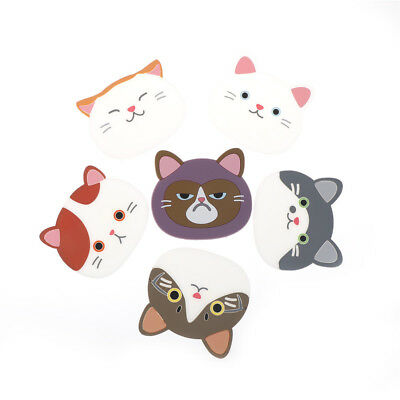 Lovely Cartoon Cat Coffee Drink Cup Placemat Beverage Holder Kitchen Supplies R