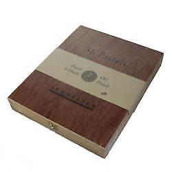 Sennelier Artist Quality Oil Pastel Wooden Box Set Of 36