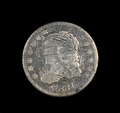 1831 Capped Bust Early Half Dime H10C Damaged