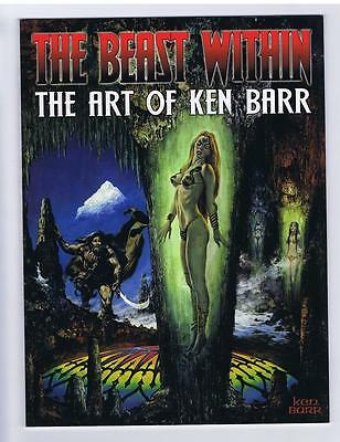 The Beast Within The Art Of Ken Barr Softcover VF+