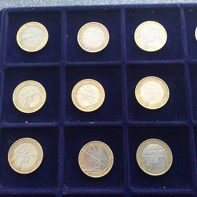 2008 Olympic Games Centenary 1908 £2 Coin Circulated x1