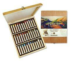Sennelier Plein Air Oil Pastels Wooden Box Set Of 30