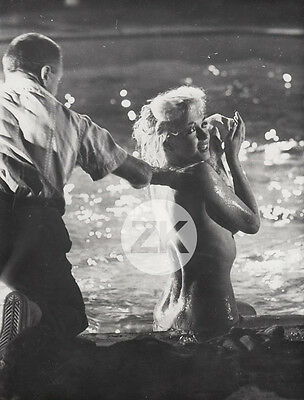 MARILYN MONROE Something's Got to Give CUKOR Piscine  Tournage SCHILLER Photo 62