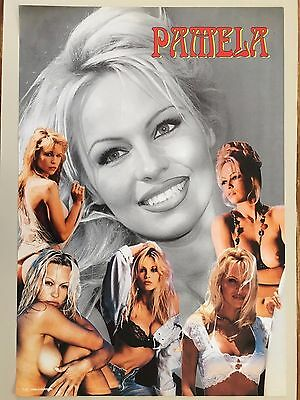 PAMELA ANDERSON,SEXY ! ASSORTED IMAGES, AUTHENTIC 1980's POSTER
