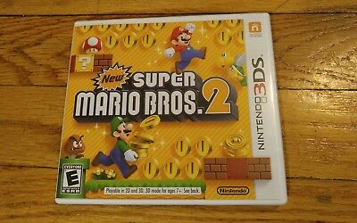New Super Mario Bros. 2 (Nintendo 3DS, 2012) Complete! **FAST SHIPPING**