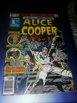 Marvel Premiere #50 (1979)..1st app. Alice Cooper co-plotted by Alice""