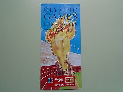 1984 Olympic Games Los Angeles Visitors Guide.