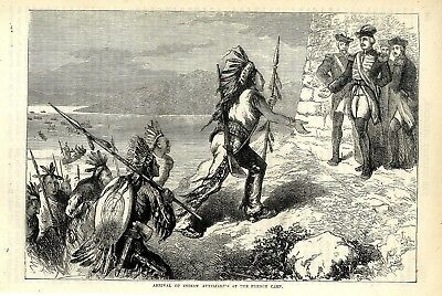 Arrival Of Indian Auxiiaries Of The French Camp * Historical Memorabilia