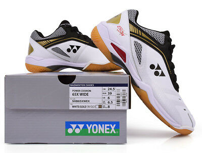 [YONEX] POWER CUSHION 65X WIDE Unisex Badminton Shoes Free Tracking SHB65XWEX