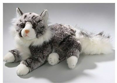Soft Toy Cat, Maine Coon, 12'. [Toy]