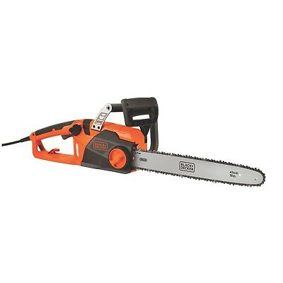 BLACK + DECKER 18-Inch 15 Amp Corded Chainsaw