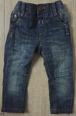 Mothercare Boy Skinny Fit Winter Jeans 18-24M - Worn Once