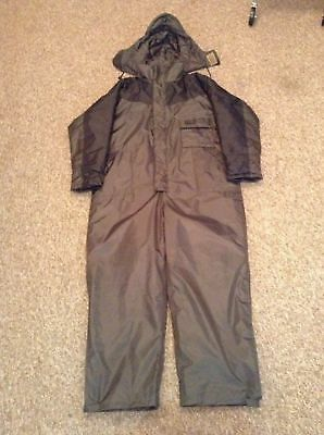 NEW Shakespeare One Piece All Weather 100% Waterproof Fishing Suit Size Large
