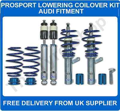 Audi A3 Mk2 8P 03 on all petrol FWD ProSport CoilOver Lowering Suspension Kit