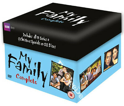 My Family Complete Series 1-11 NEW PAL 22-DVD Set Dewi Humphreys Robert Lindsay